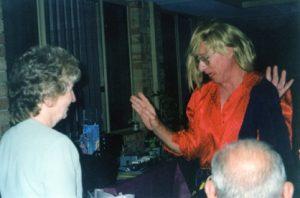 Midge's 70th birthday wish came true when Trish ordered him a stripper