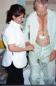 Midge underwent a heart bypass surgery in 2000