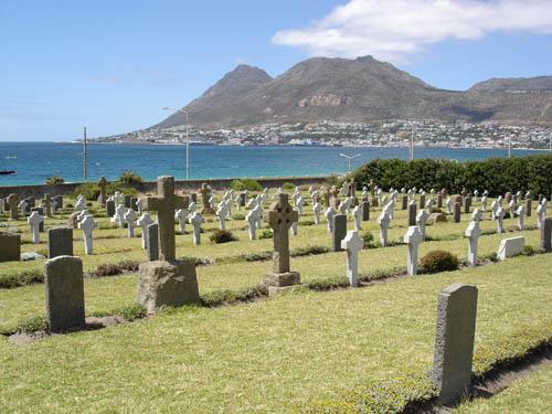 Simon's Town naval cemetery