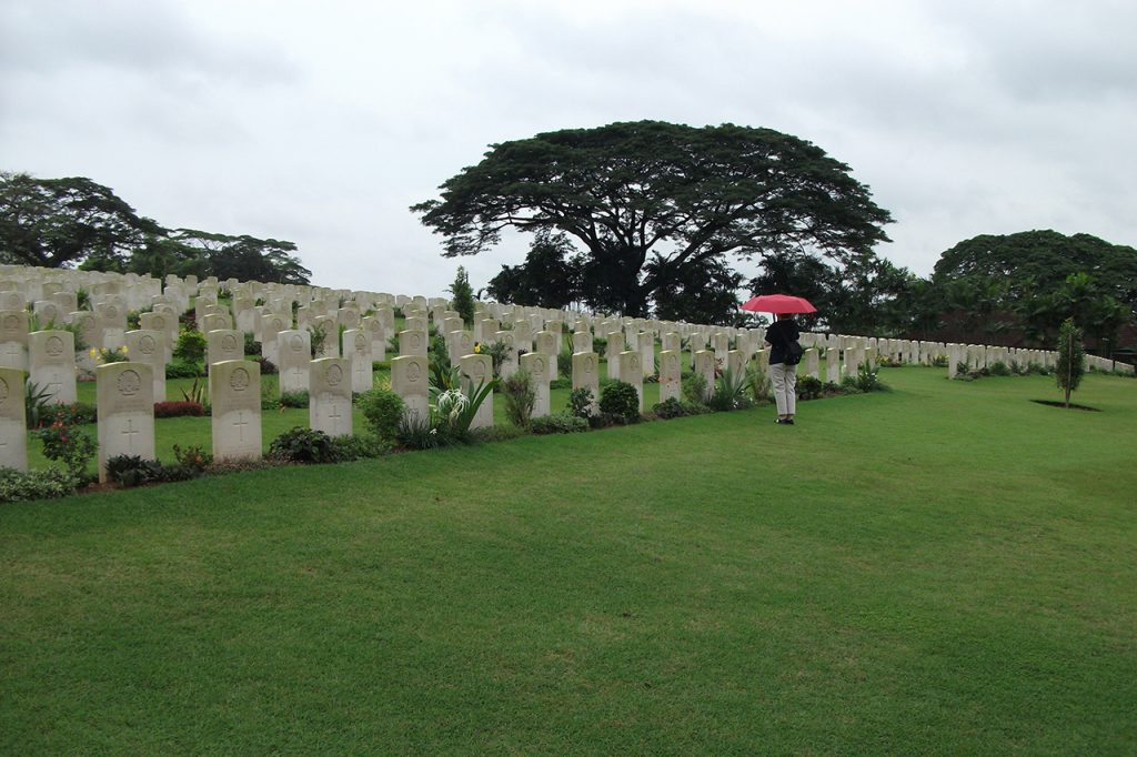 Kranji Military Cemetery setting in 2011
