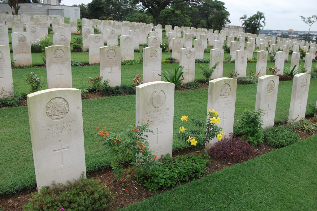 Some Australian graves in 2011
