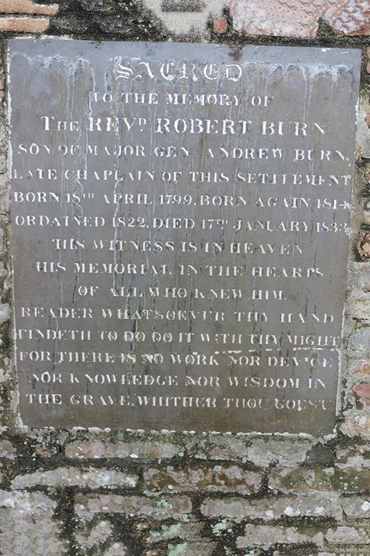 Reverend Robert Burn