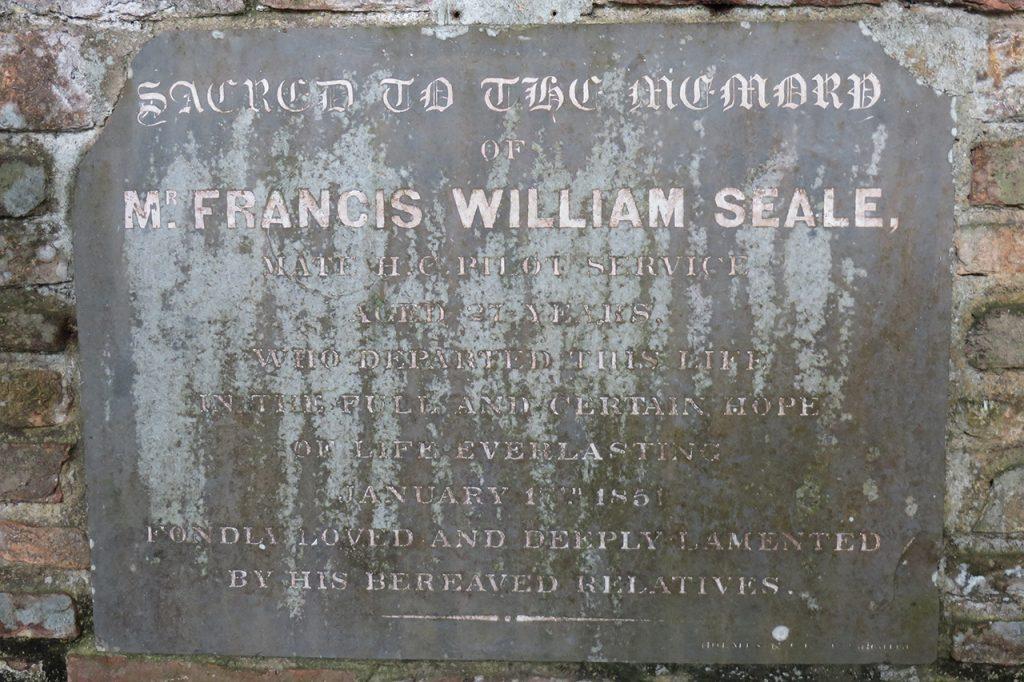 Francis William Seale, Mate HC Pilot Service