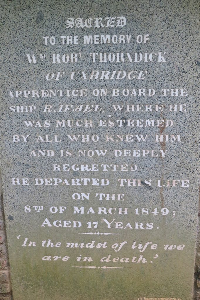 Robert Thorndick of Uxbridge