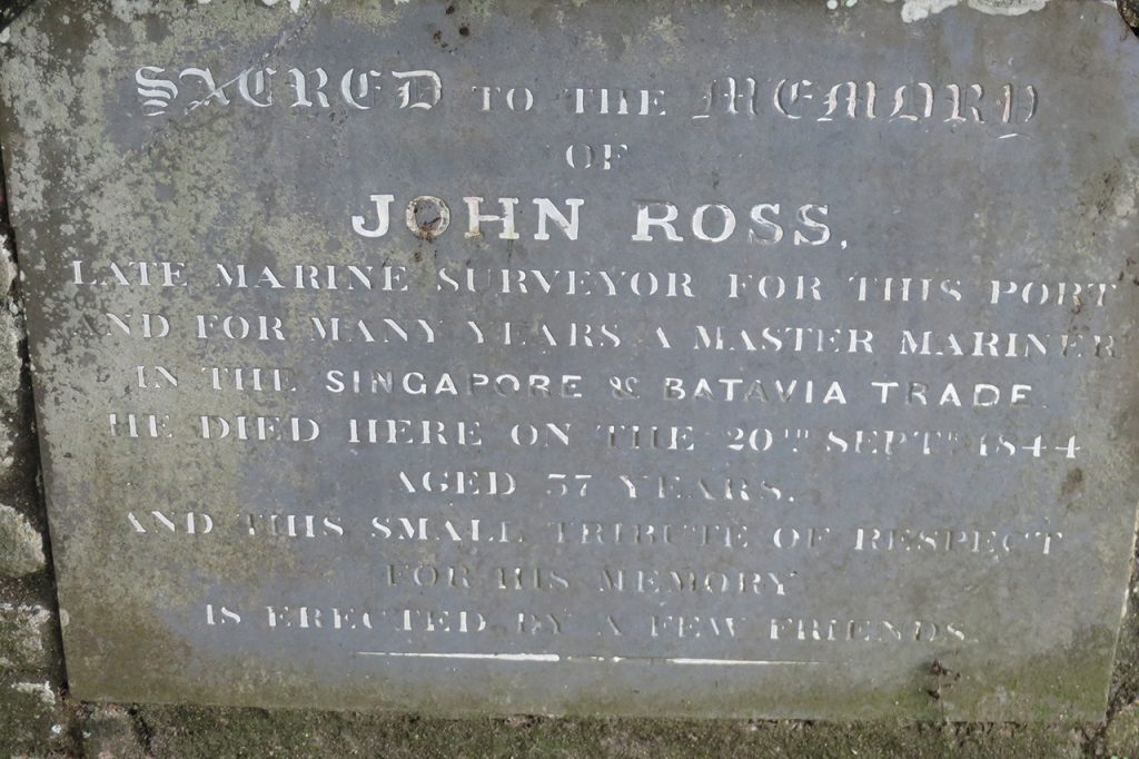 John Ross, late marine surveyor
