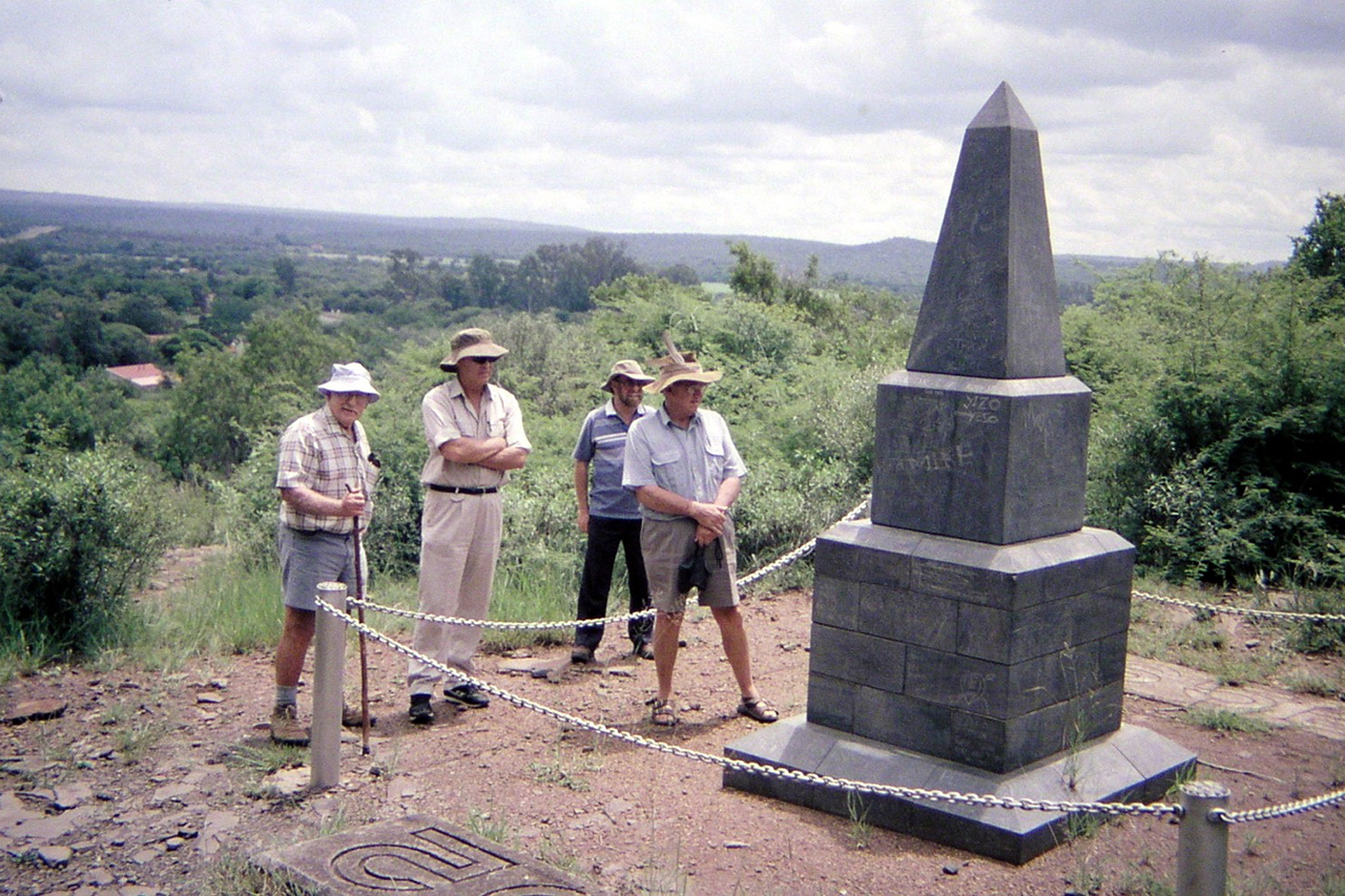 The Burgher monument at Koster River