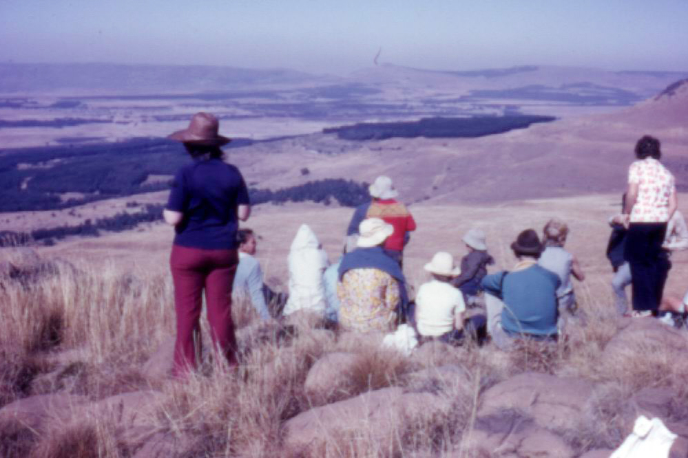 Hlobane,view South from summit, the way we came up