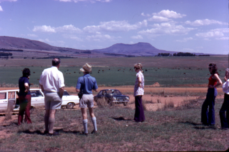 Tania, Darrell, Ken and Heather in Ntombe Drift, 1973