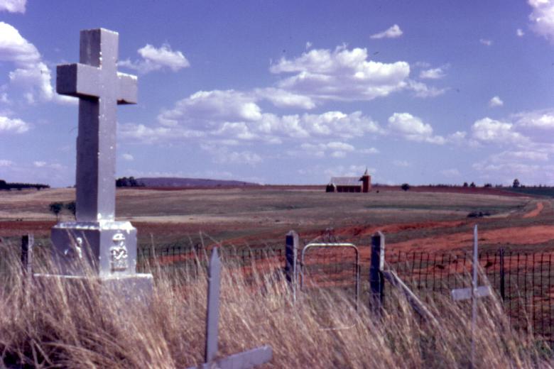 Cemetery, Ntombe Drift, 1973