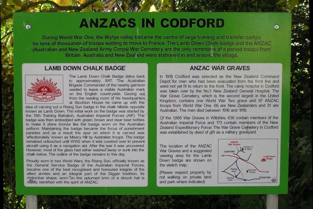 Ansacs in Codford