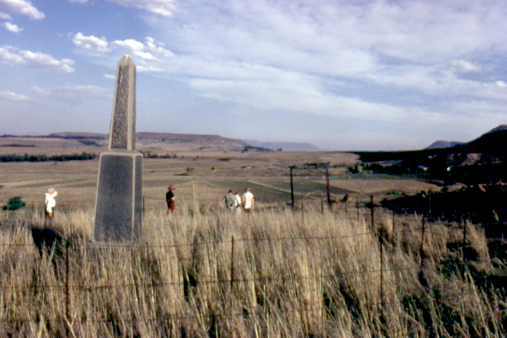 26 SAMHS members at the Holkrans Monument, 1972
