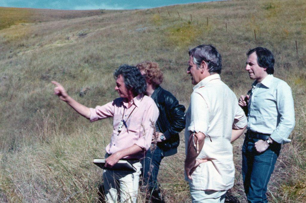 Peter Williams, Douglas Hickox and Onsama Rawi. Location selection.