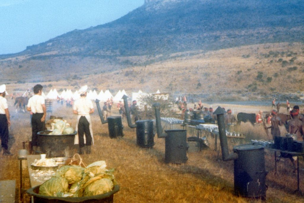 The army field kitchen