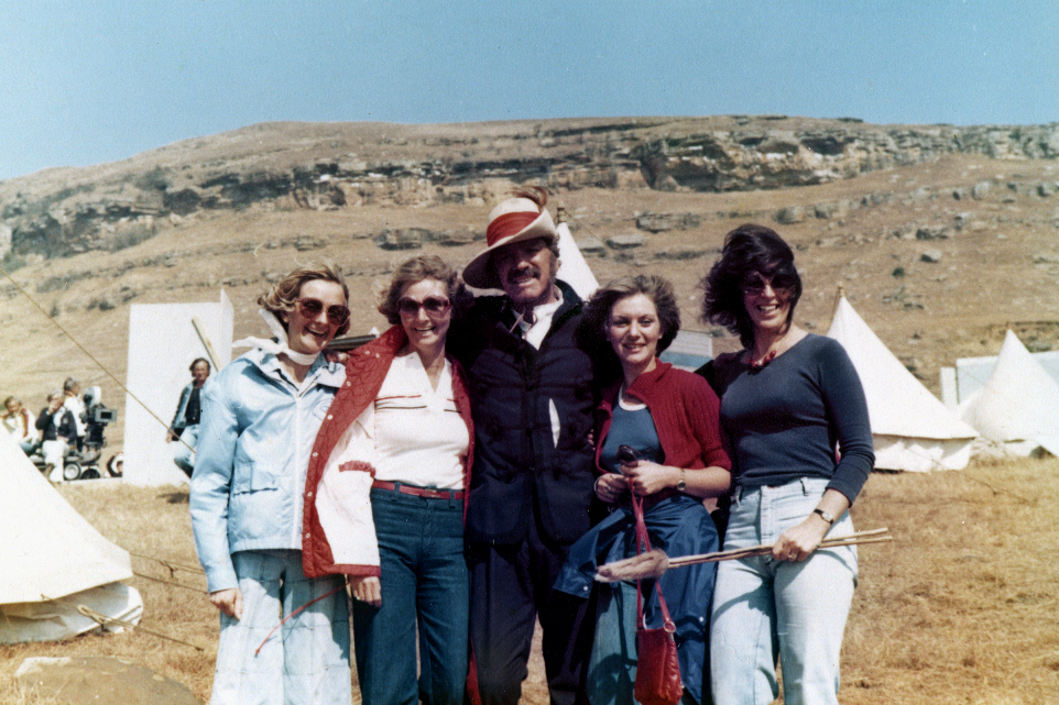 Burt Lancaster with some of my friends
