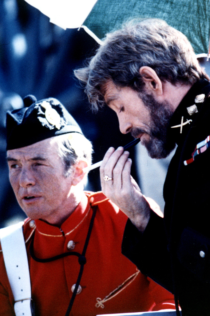 Peter O'Toole and Midge