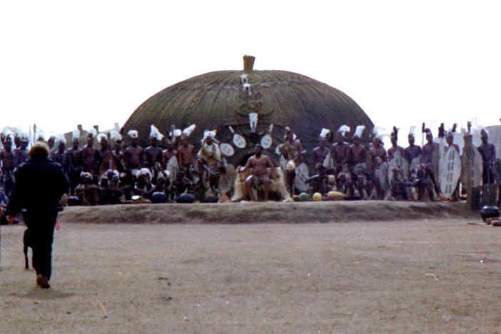 Chief Ceteswayo's kraal