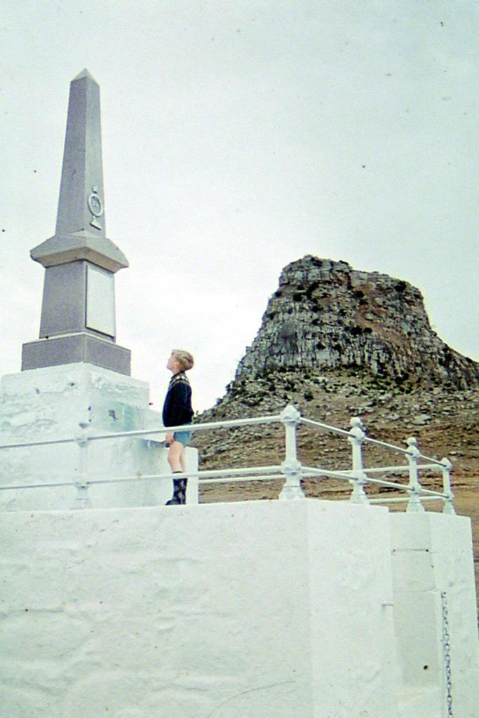 24th Regiment monument, 1978