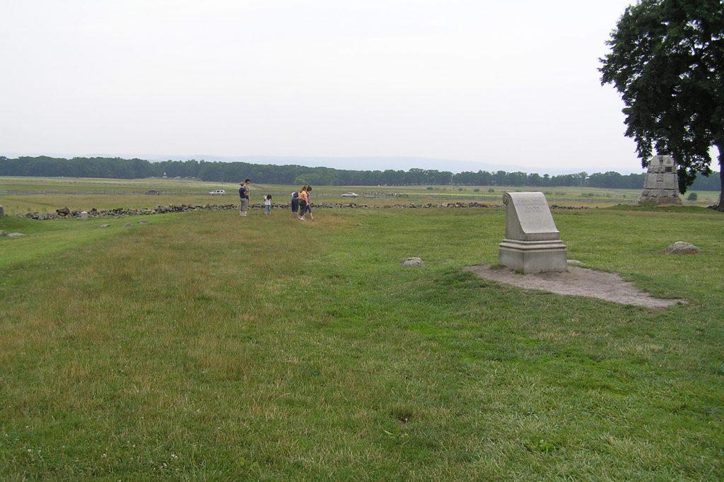 Site where Armistead fell