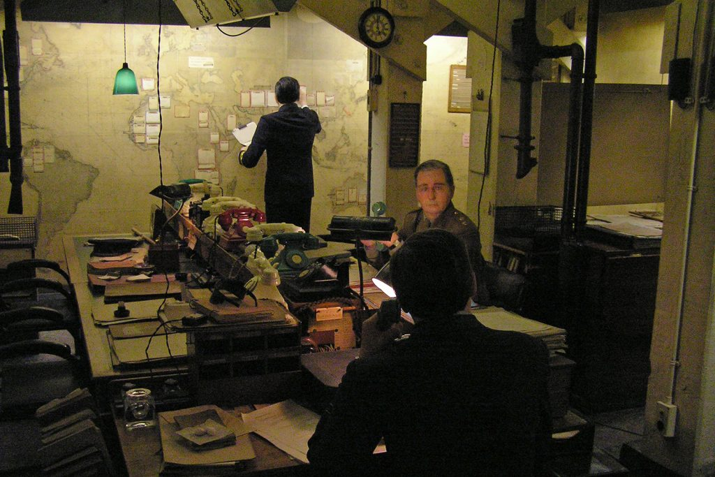 Hidden away is the War Cabinet Rooms, with its excellent representation of 'behind-the-scenes' in World War Two